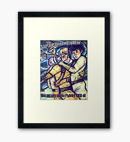 Space Boyfriends Framed Print