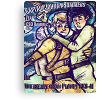 Space Boyfriends Canvas Print