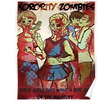 Sorority Zombies Poster
