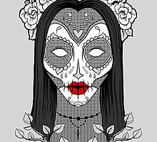 Vecta Skull Girl by Vecta  Selecta