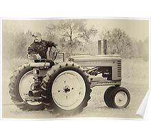 Vintage John Deere Poster