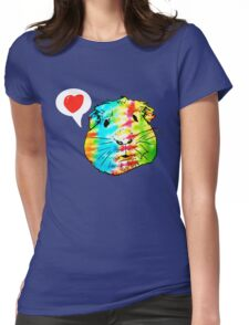 guinea pigs in the sky with diamonds Womens Fitted T-Shirt