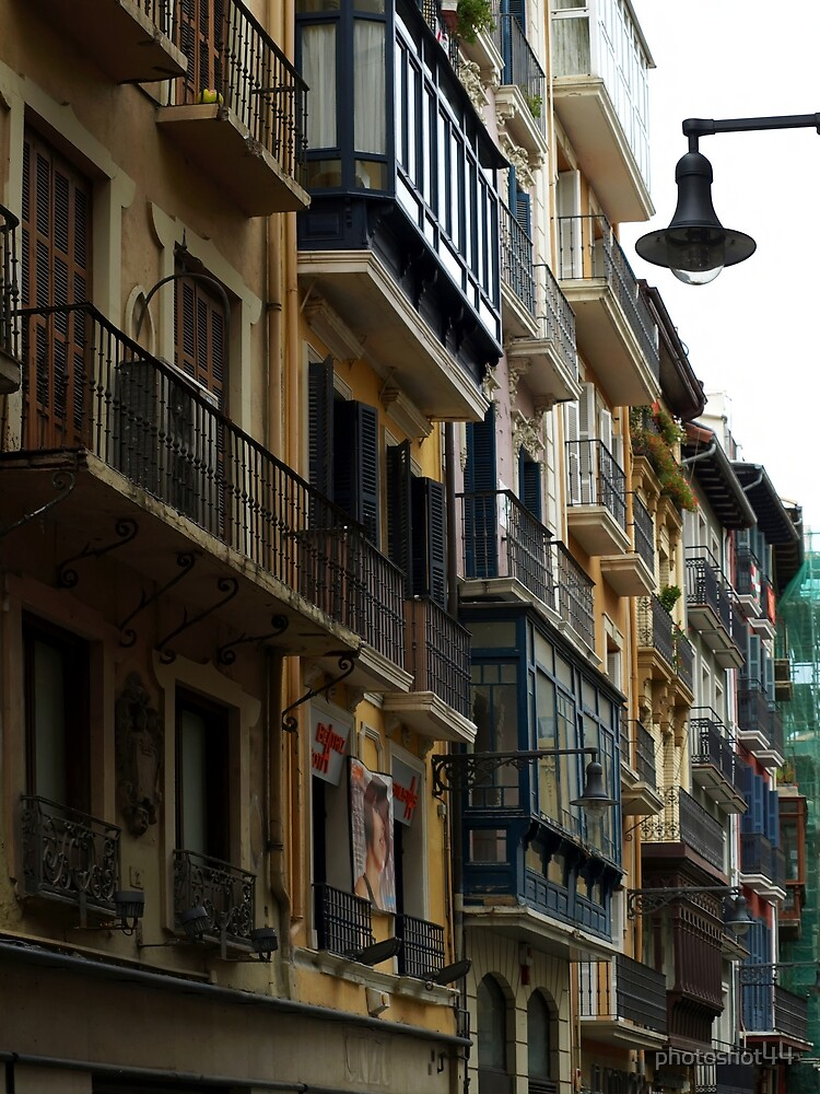 Balconies and Lampost by photoshot44