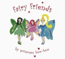 Fairy Friends One Piece - Short Sleeve