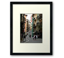 City Life Framed Print
