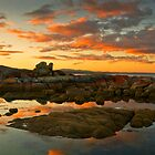 SUNSET AT BAY OF FIRES by THOMAS LUCHT