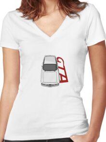Alfa Romeo GTA Women's Fitted V-Neck T-Shirt