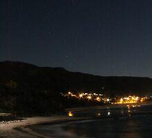Night at the Beach by ©Josephine Caruana