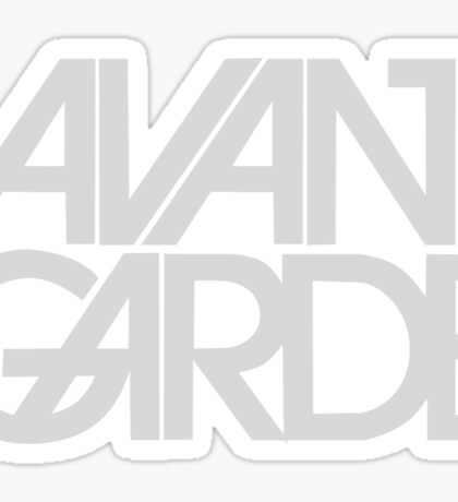 avant garde Sticker