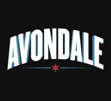 Avondale Neighborhood Tee (Dark) One Piece - Long Sleeve