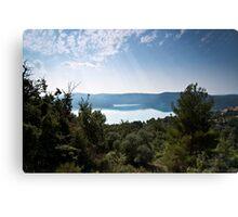 Lac Du Ste Croix Canvas Print