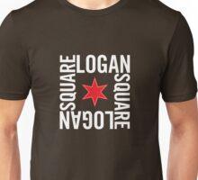 Logan Square Neighborhood Tee (Dark) Unisex T-Shirt