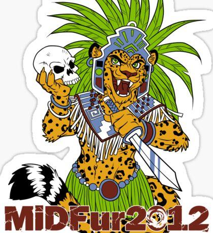 MiDFur 2012 Platinum Sponsor Sticker