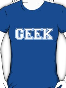 Green College GEEK Tee T-Shirt