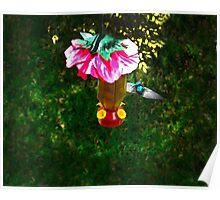 Hummingbird Early Visit Poster