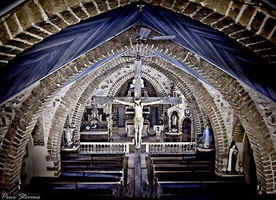 Our Lady of Mt Carmel Church ~ Mullewa WA by Pene Stevens