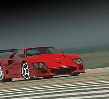 Ferrari F 40 LM Michelotto by Stefan Bau