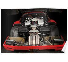 Ferrari F 40 LM Michelotto Poster