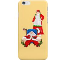 Sleeping Santa iPhone Case/Skin