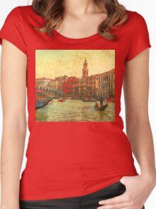 Venezia D'Oro 2 Women's Fitted Scoop T-Shirt