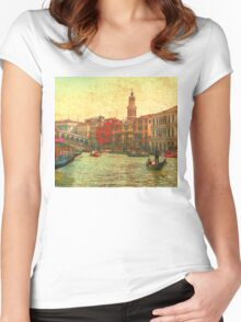 Venezia D'Oro 2 Women's Fitted Scoop T-Shirt