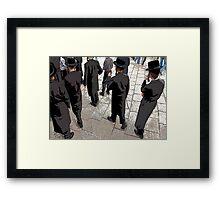 Yehiva boys Framed Print