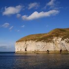 Flamborough Cliffs. North Landing. by TREVOR34