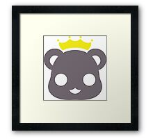 kuma king Framed Print