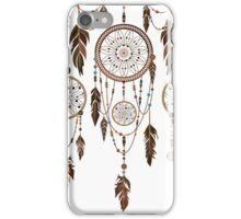 Native American Dreamcatcher Feathers Pattern iPhone Case/Skin