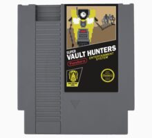 Super Vault Hunters NES Cartridge by Adho1982