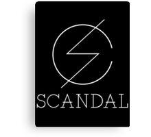 Scandal Band New Canvas Print