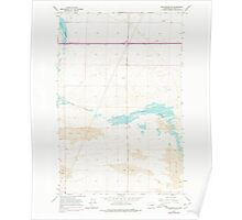 USGS Topo Map Washington State WA Winchester SE 244744 1966 24000 Poster