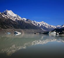 Mt.Cook New Zealand landscape by arthit somsakul
