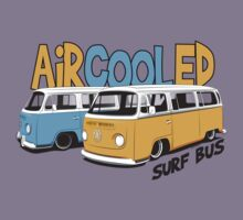 VW Surf Bus Pair by velocitygallery