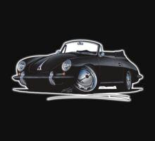 Porsche 356 C Cabriolet Black Kids Clothes