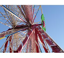 fairground fun Photographic Print