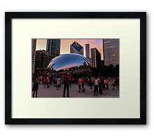 The Bean Framed Print