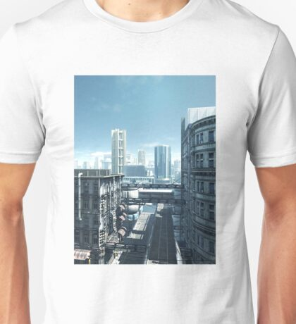 Future City - Deserted Streets Unisex T-Shirt