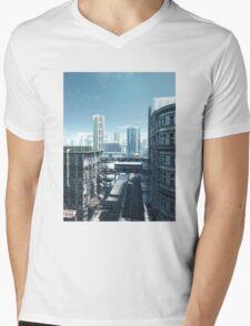 Future City - Deserted Streets Mens V-Neck T-Shirt