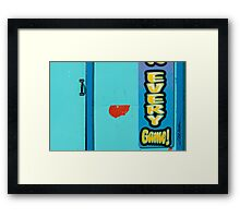 Every Game Framed Print