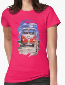 Eyre Peninsula, Beach Kombi Womens Fitted T-Shirt