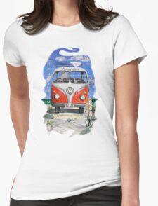 Eyre Peninsula, Beach Kombi Womens Fitted T-Shirt