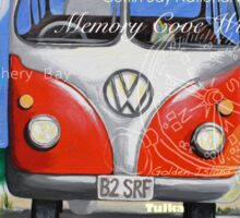Eyre Peninsula, Beach Kombi Sticker