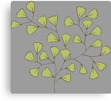 Leaf Go Green Ecology Canvas Print