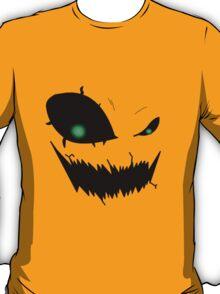 Scary Pumpkin Face Version 3 T-Shirt