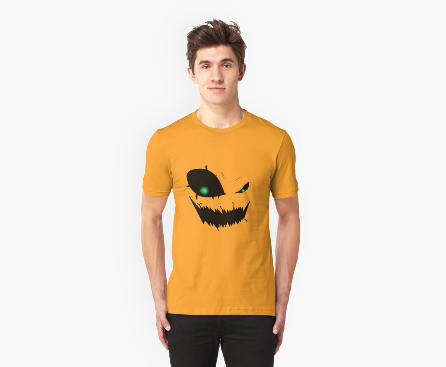 Scary Pumpkin Face Version 3 by ShadowDesigns