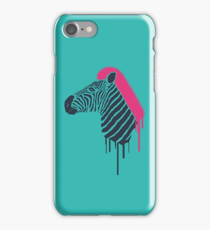 Zebra's Not Dead II iPhone Case/Skin