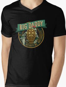 BigDaddy Security   Mens V-Neck T-Shirt