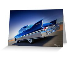 Wild Blue Yonder Greeting Card