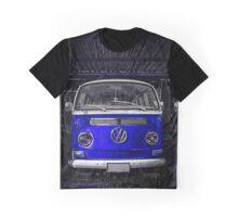 Blue combi Volkswagen Graphic T-Shirt